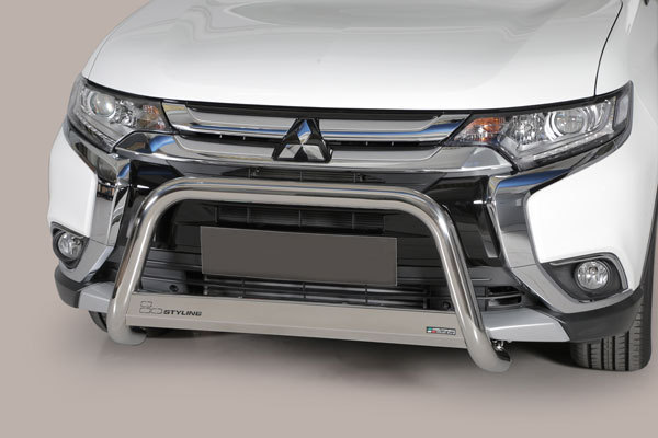 Stainless Steel Front Guard Mitsubishi Outlander 2015-up