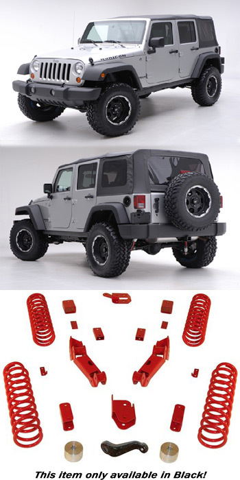 fahrwerk höherlegung jeep wrangler jk -fortec 4x4