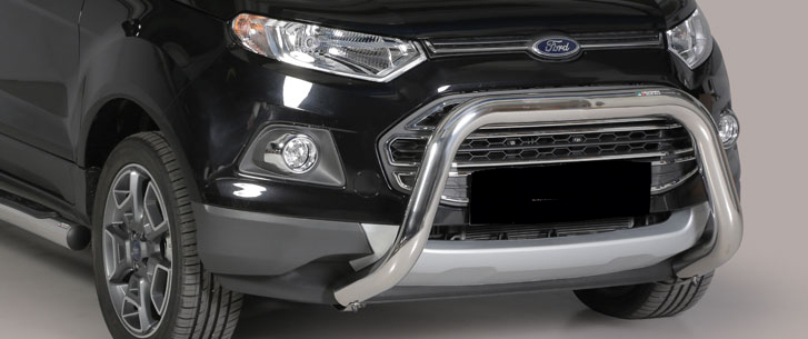 Stainless Steel Front Guard Ford Ecosport 2014 Up Fortec 4x4